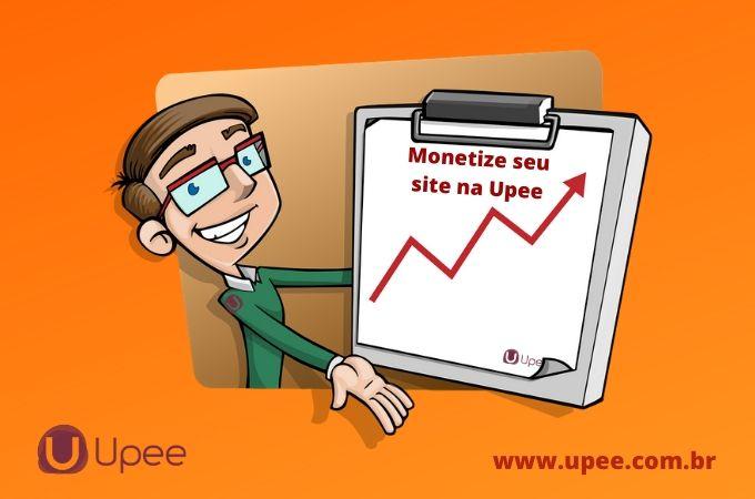 Como inserir os anúncios da Upee para monetização do seu site